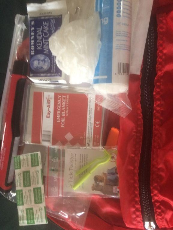 Survival Kit Content Replacement Pack (Bag Not Included)